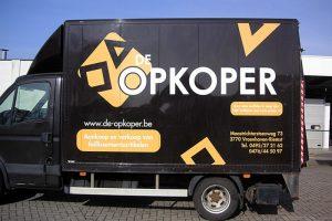 Autobelettering Opkoper | Market